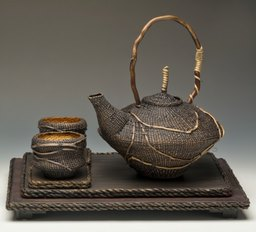 Asian Tea Service by Kathey Ervin
